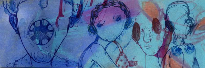 colourful illustration by the illustrator greta alice